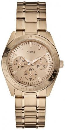 Guess Feminine Dress Rose Gold U13623L1 Uhren