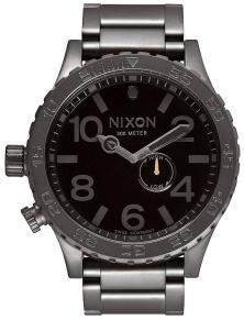Nixon 51-30 Tide All Gunmetal Black A057 680 Uhren