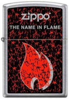 Zippo The Name In The Flame 7011 feuerzeug