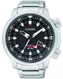 Citizen BJ7080-53E Eco-Drive GMT Diver Uhren