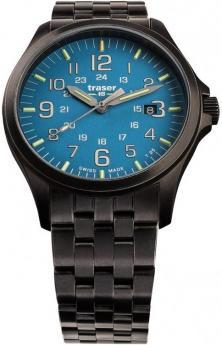 Traser P67 Officer Pro GunMetal SkyBlue 108740 uhren