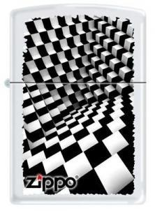 Zippo Dimension - Black and White 6316 feuerzeug