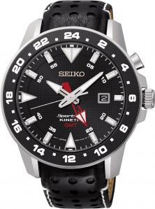 Seiko SUN015P2 Sportura Kinetic GMT Uhren