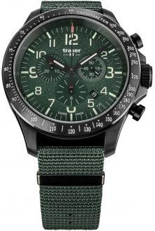 P67 Officer Pro Chronograph Khaki Steel 109463 uhren
