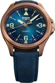 Traser P67 Officer Pro Automatic Bronze Blue 108074 uhren