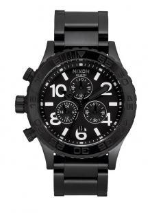 Nixon 42-20 Chrono All Black A037 001 Uhren