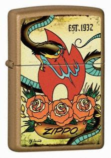 Zippo Tattoo - The Traditions Collection 24043 feuerzeug
