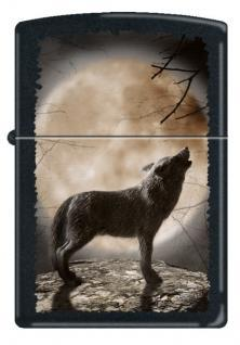 Zippo Wolf Howling To The Moon 3731 feuerzeug