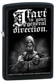 Zippo Monty Python - I Fart In Your General 2753 feuerzeug