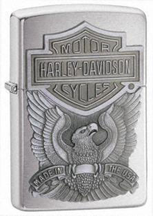 Zippo HD Made In Usa Emblem 200HD H284 feuerzeug