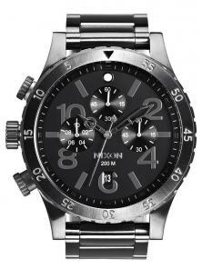 Nixon 48-20 Chrono All Gunmetal A486 632 Uhren