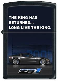 Zippo Corvette Long Live The King ZR1 1276 feuerzeug