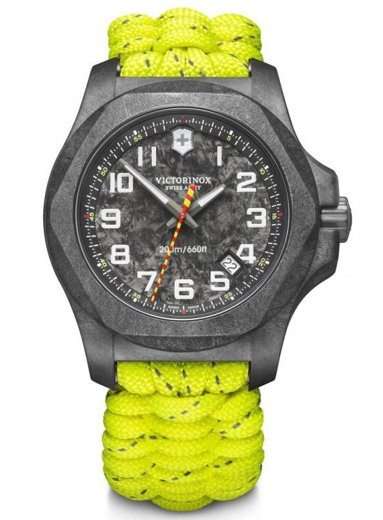 Victorinox INOX 241858.1 Carbon Paracord Limited Edition Firefighter Uhren