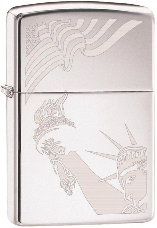 Zippo USA Flag and Statue of Liberty 2265 feuerzeug